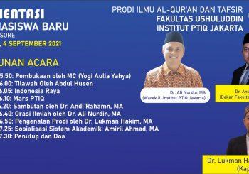 ORIENTASI MAHASISWA BARU: MERAWAT AL-QUR'AN, MERAWAT INDONESIA.